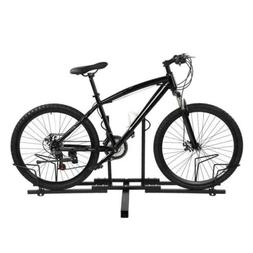 2 Mountain Bike Carrier Rack Bicycle Holder Steel for Car Tr