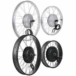 """20 24 26"""" Front Wheel Electric Bicycle Motor Conversion Kit"""