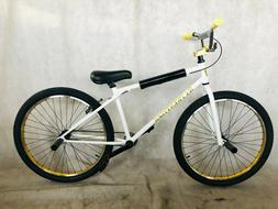 """2019 R4 26"""" Complete BMX Bike Cruiser Bike Bicycle With Pegs"""