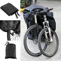 For 2Bikes Bicycle Cycle Waterproof Cover Outdoor Rain Snow