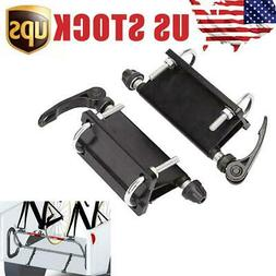 2Pcs Bicycle Block QR Alloy Fork Mount For Pickup Truck Bed