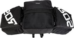 3X1Multifunction Bicycle Expedition Touring Cam Pannier Blac