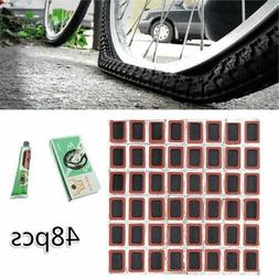 48Pcs Motor Bicycle Bike Tyre Tire Inner Tube Puncture Rubbe