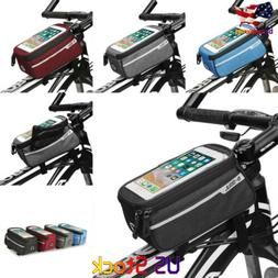 Bicycle Bag Accessories Touch Screen MTB Frame Front Tube St