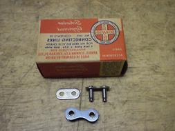 """Bicycle Chain 1"""" Pitch Skip Tooth Master Repair Link Kit Sch"""