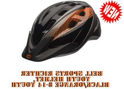 Bell Bicycle Helmet - Orange/Black - light Up 8-14 New With/