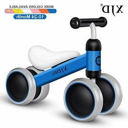 Bicycle Toddler Bike Infant No Pedal 4 Wheels Baby Toys for