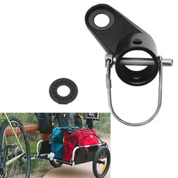 Connector Bike Trailer Angled Coupler Child/Pet Hitch Mount