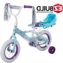 Bikes For Girls 12 In Bicycle Disney Frozen Huffy Training W