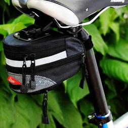 New Black Cycling Bike Bicycle Outdoor Pouch saddle seat bag