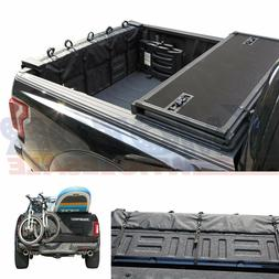 Black Tailgate Pad Full Size Truck Fit For Surfboard Bicycle