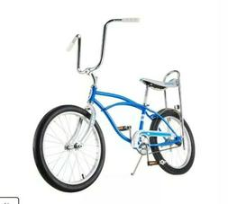 Classic Schwinn Blue Sting-Ray Banana Seat Bike NEW in BOX