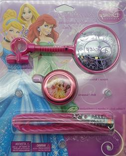 Bell Disney Princess Combo Kit with Cable Lock, Mirror and B