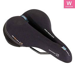 Serfas Dual Density Women's Bicycle Saddle with Cutout