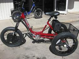 ELECTRIC MOUNTAIN TRIKE 3 Speed FAT TIRE BIKE TRICYCLE GOLF