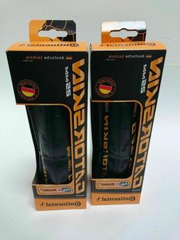 Continental Gatorskin 700 x 25 Road Bike Folding Tire Set 2-
