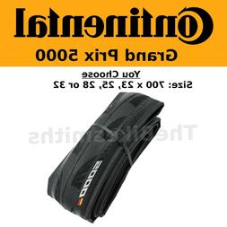 Continental Grand Prix GP 5000 700c Fold Bike Tire 23 25 28
