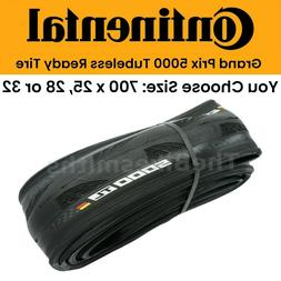 Continental Grand Prix GP 5000 TL 700c Tubeless Bike Tire 25