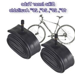 2X Inner Bike Tube Bicycle Rubber Tire BMX Schrader Valve 16