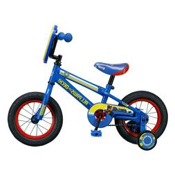 "Kids 12"" Paw Patrol Steel Frame Bicycle with Training Wheels"