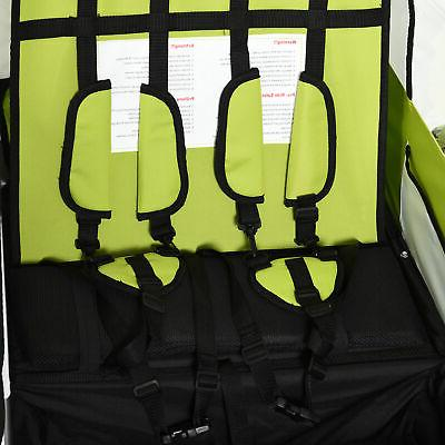 Baby Cart, Seats with Safety Harnesses