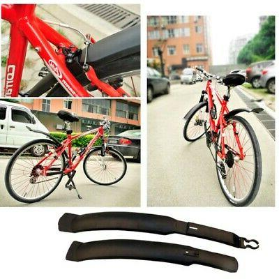 2PCS Mountain Bike Road Bicycle Front Rear Mudguard Fenders