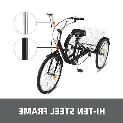 "20"" Tricycle 1Speed Bicycle Trike w/"