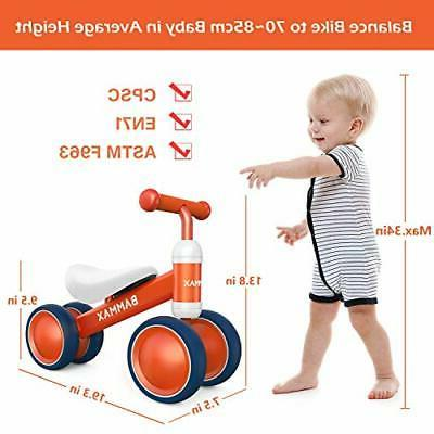 Bammax Balance Bike, Baby Bicycle for Year for Year