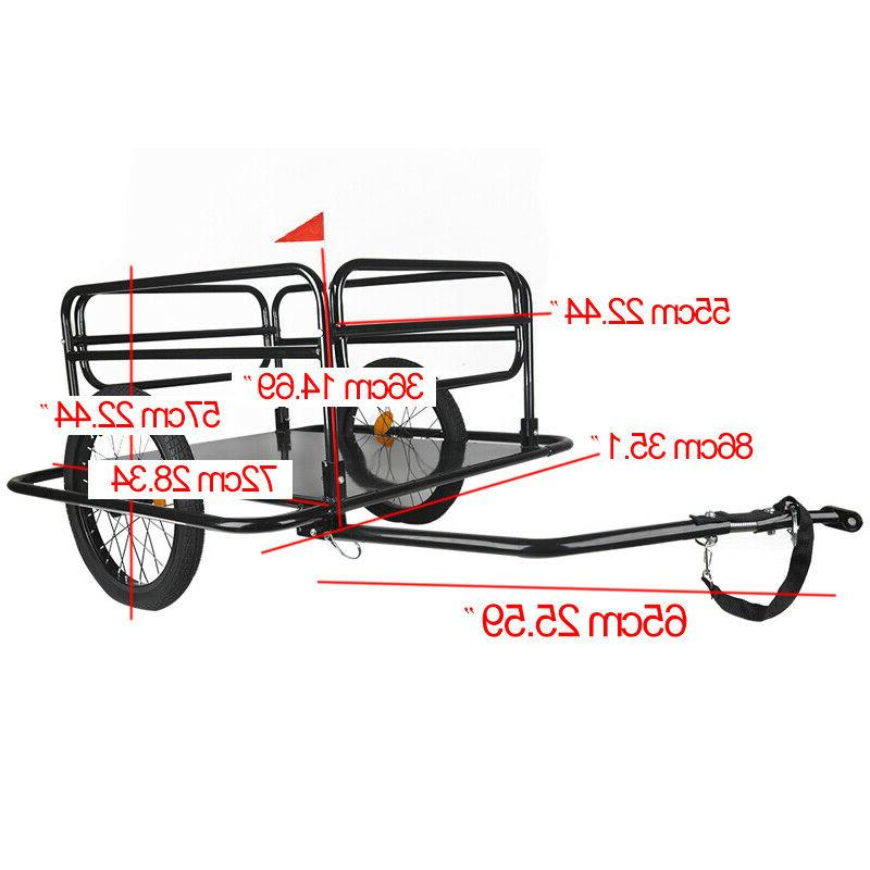 Bicycle Cargo Steel Dural Wheels Foldable Luggage