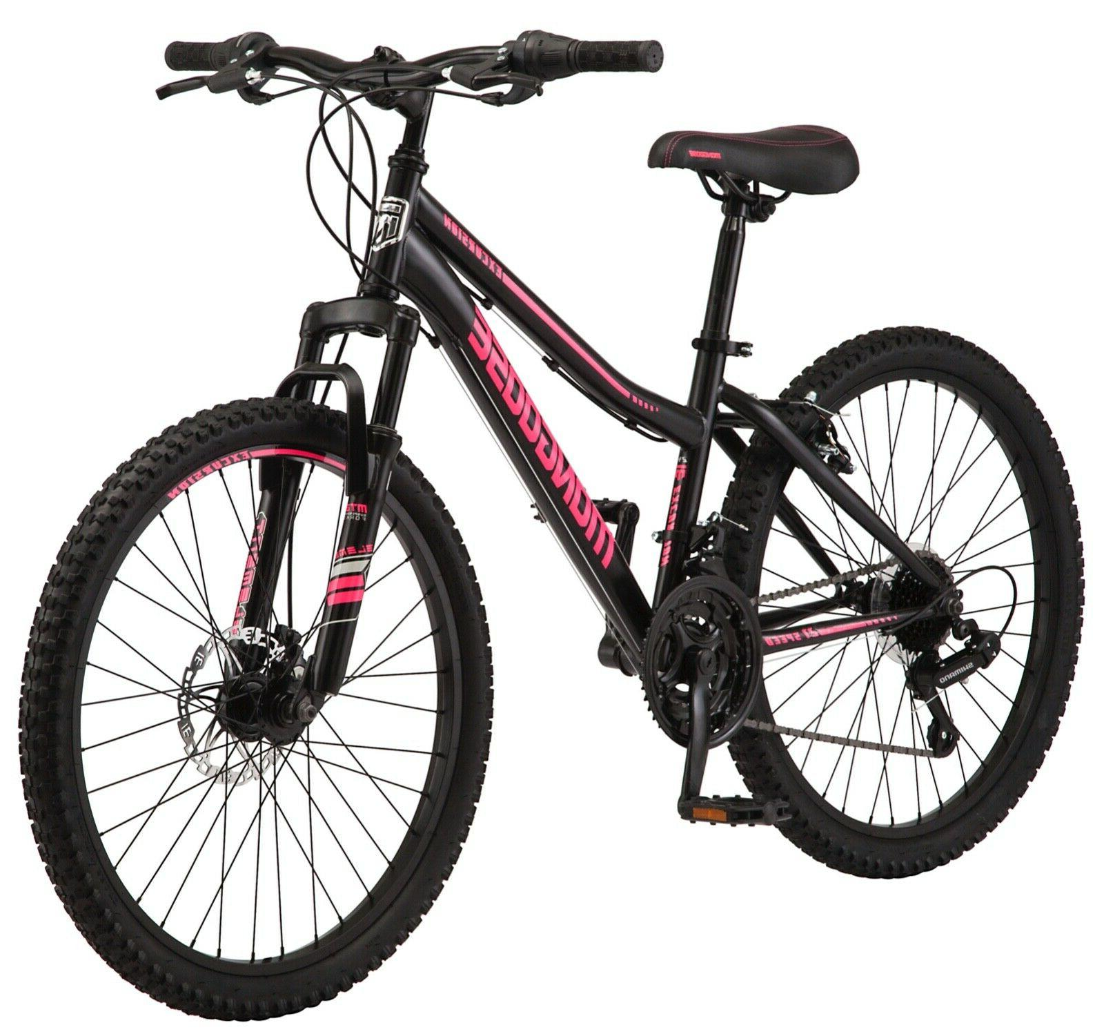 excursion mountain bike 24 inch wheel 21