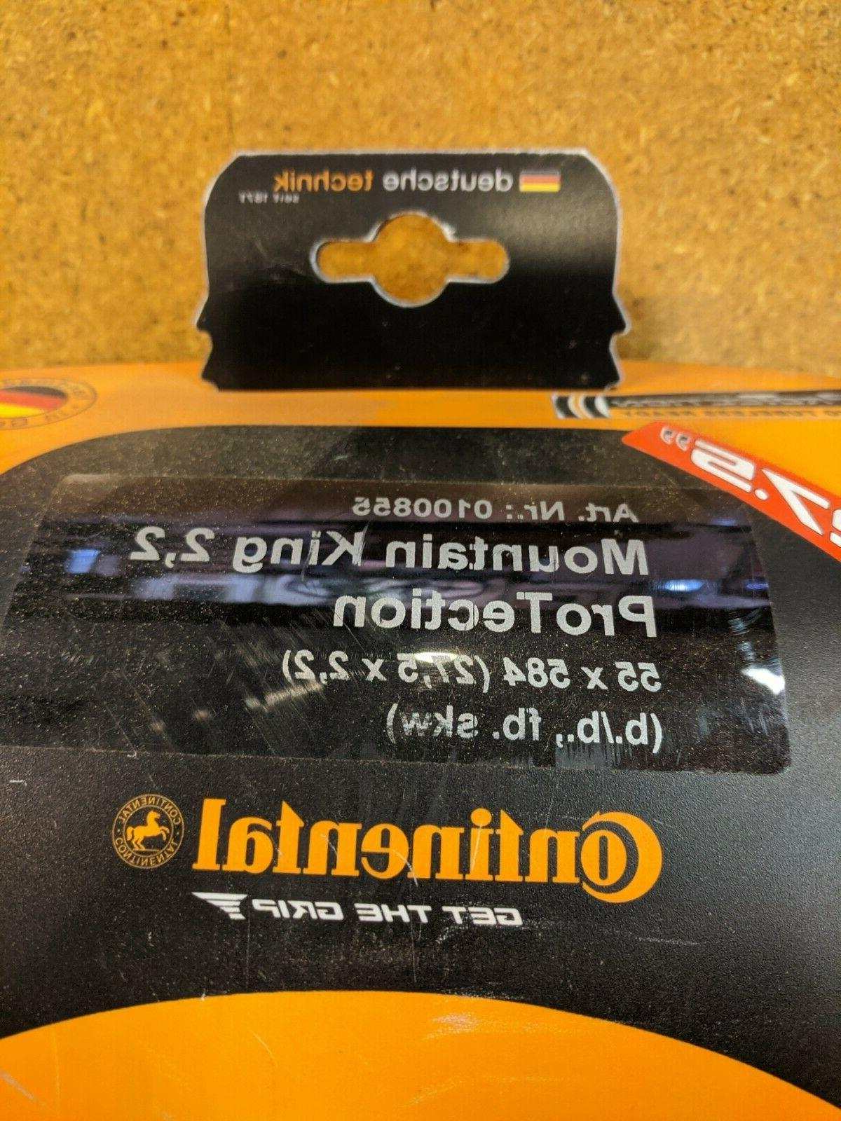 CONTINENTAL TUBELESS BICYCLE TIRE X 2.2 - NEW!!