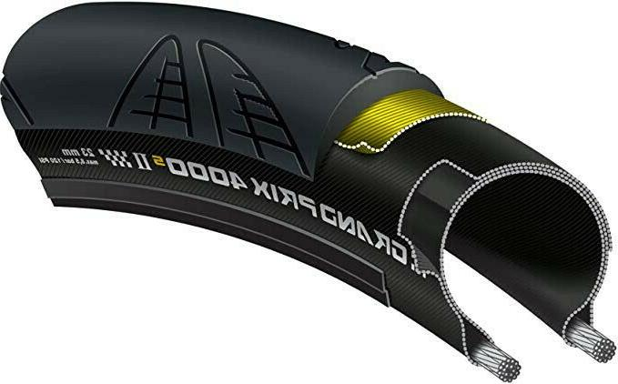 New 4000s 23C Bike Tire - Black - No Packaging