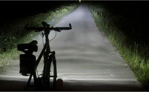 Road Front Light Bicycle LED Lamp 12000LM Bright Riding
