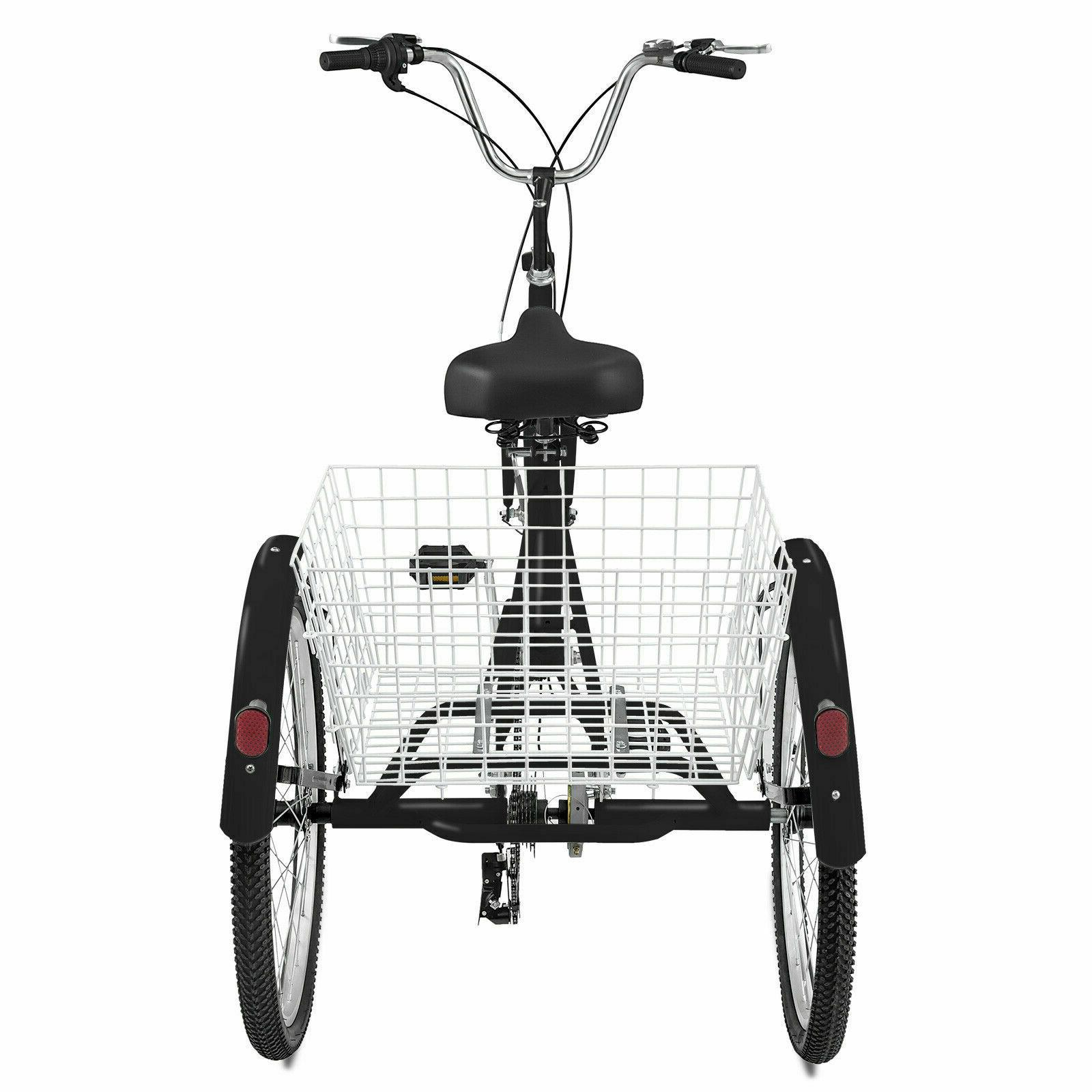 """Tricycle 20"""" 3-Wheel Speed Cruiser"""