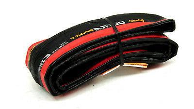 Continental 700x25 Black/Red Road Tire