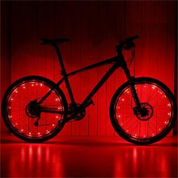 LED Bicycle Bike Cycling Rim Lights Auto Open & Close Wheel