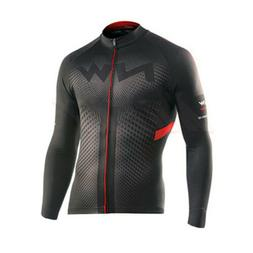 Long Sleeve Mens Cycling Jersey Jacket Breathable Bicycle Co