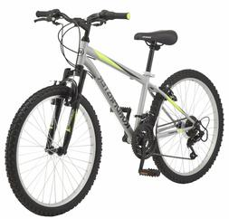 Men's Mountain Bike 24-inch Wheels 18 Speed Roadmaster Grani