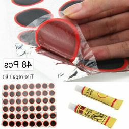 Motor Bicycle Bike Tyre Tire Inner Tube Puncture Rubber Patc
