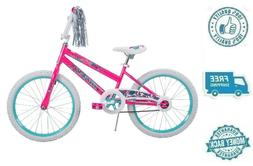 """New 20"""" Pink Girls Toy Cycling Outdoor Ride On Recreation Bi"""