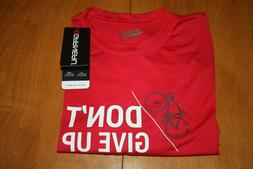 NEW LOUIS GARNEAU MENS SIZE MEDIUM RED JERSEY CYCLING SHARE