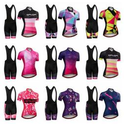 JPOJPO New Women Cycling Jersey Bicycle Clothing Sets T-Shir