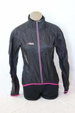 New Louis Garneau Women X-Lite Cycling Jacket Bike Black Lar