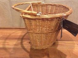 NWT Bell Tote 700 Quick Release Brown Wicker Handlebar Bicyc