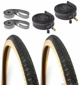 "2-Pack Panaracer Pasela Skinwall 27x1-1/8"" Road Bike Tires T"