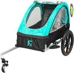 Retrospec Rover Kids Bicycle Trailer Single And Double Passe