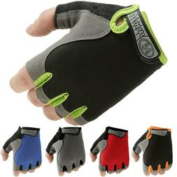 Road MTB Bicycle Cycling Half Finger Gym Gloves Road BMX Bik