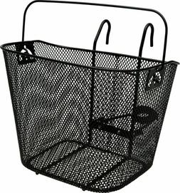 Bell Tote 510 Front Basket with Handle for Bicycle Black