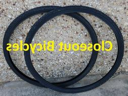TWO GENUINE DURO 26x1-3/8 ROAD BIKE BICYCLE TIRES NEW