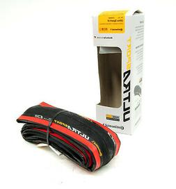 Continental Ultra Sport III 700x25 Black/Red Folding PureGri